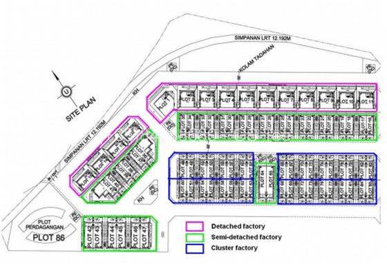 SME-City-ipark-site-plan