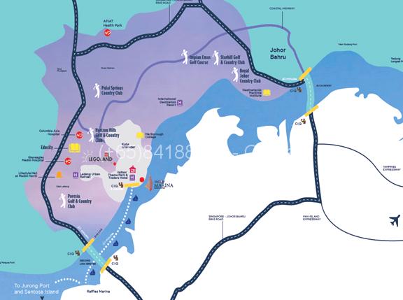 encorp-marina-puteri-harbour-location-map