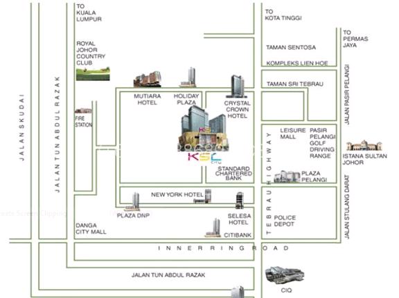 Desplanade-Residence-location-map2