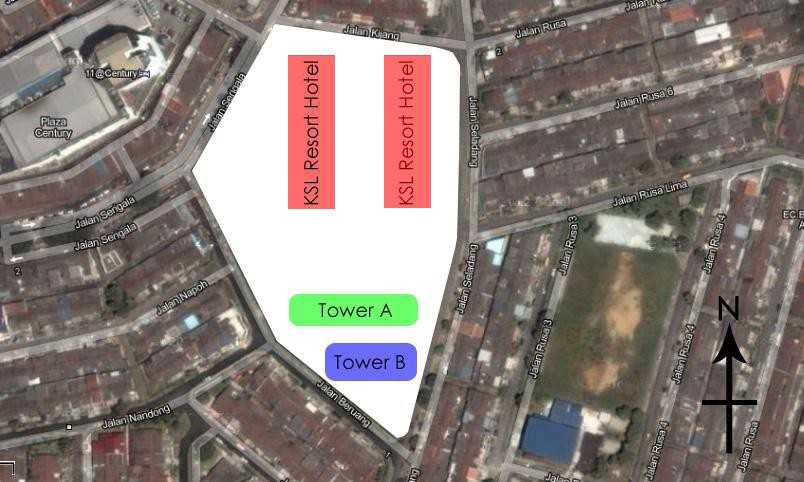 Desplanade-Residence-site-plan