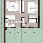 1-bedroom (658sqft -typeA)