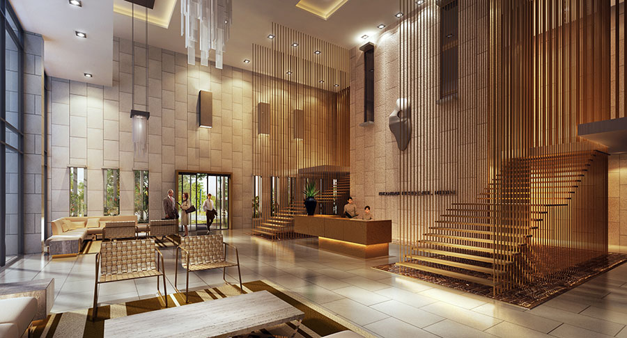 Iskandar Residences Medini: Luxury Lobby