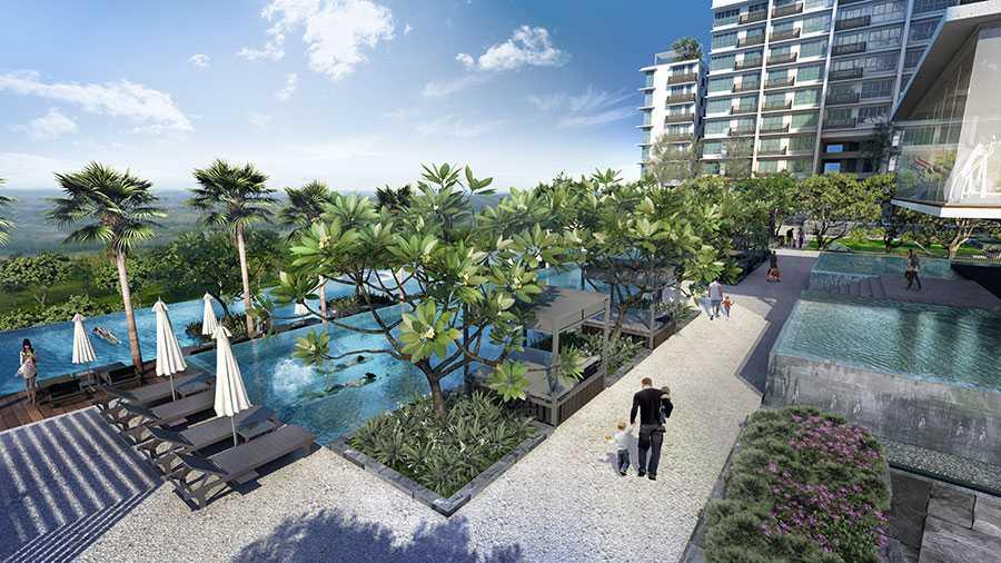 Iskandar Residences Medini: Infinity Pools