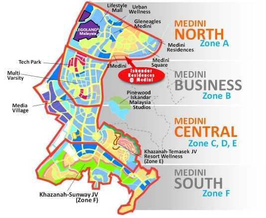 Iskandar-Residences-Location