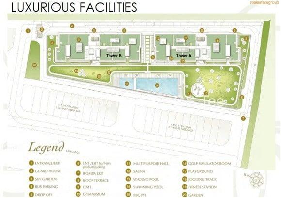 D'Inspire Residences- SIte Plan