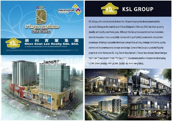D'inspire Residences: Developer - KSL Holdings Portfolio