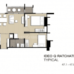 Ideo-Q-Ratchathewi-Bangkok-FloorPlan-2Bedroom1bath