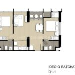 Ideo-Q-Ratchathewi-Bangkok-FloorPlan-2Bedroom