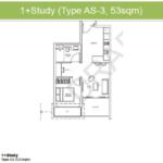 Junction-Nine-FloorPlan-1+Study