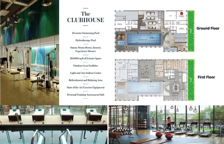 Royal Wharf 2018 Club House