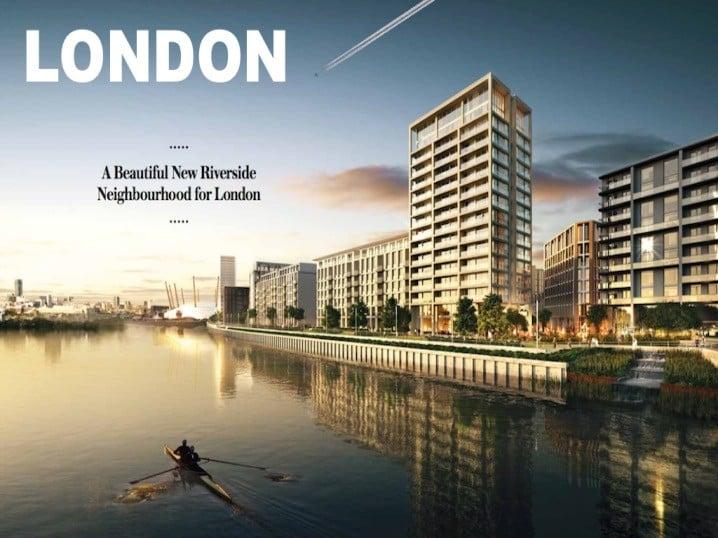 Royal Wharf 2018 Magazine Headline