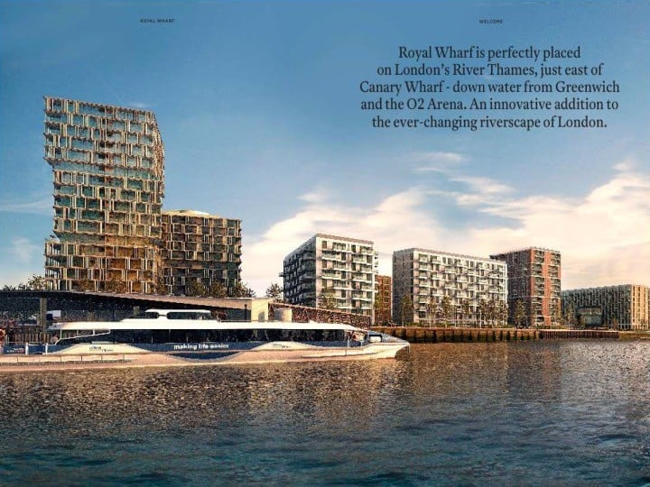 Royal Wharf 2018 Magazine Headline2