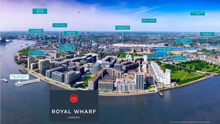 Royal Wharf 2018 Site Drown