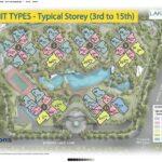 Lakeville Siteplan 3rd to 15th Storey