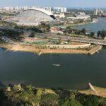 Kallang Riverside - Actual view showflat visit 3