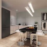 Green Haven: Kitchen area