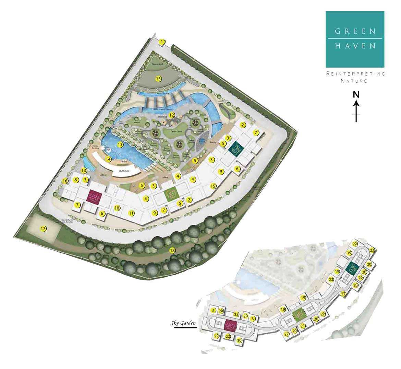 green-haven siteplan