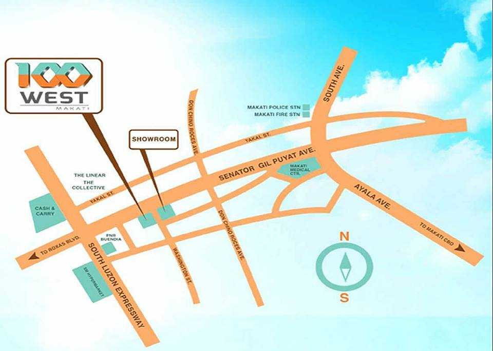 100-west-makati-location-map