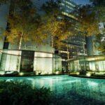 Bora-Residences-Danga-Bay-Pool-Night