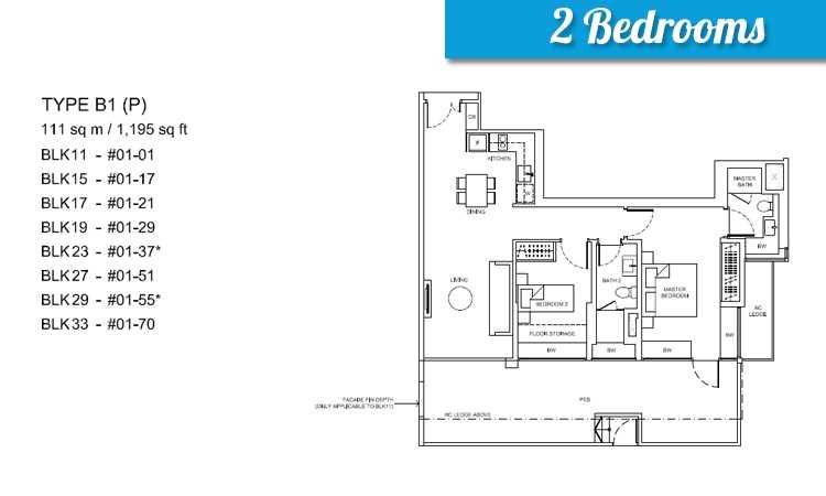 Coco palms floor plan floor matttroy for Condo floor plans 2 bedroom