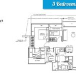 cocoplams floor plan 3+bedroom+dualkey