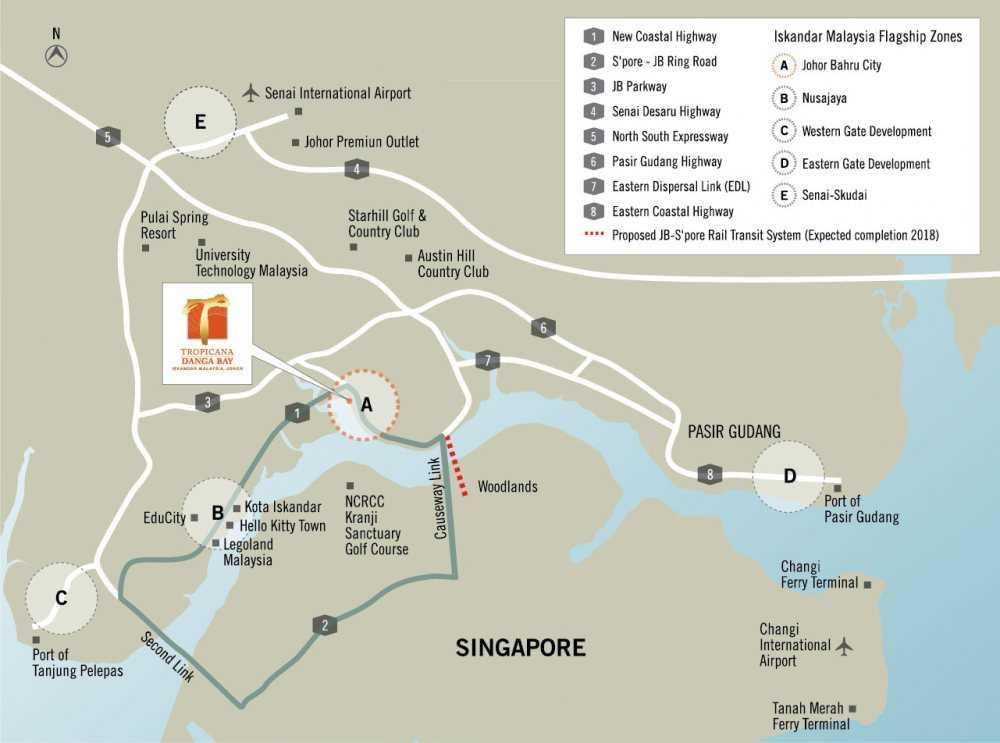 Bora-Residences-Danga-Bay-Map