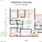 Botanika-Tower-B-Floor-Plan-Type-A2-4bedroom-Dual-Key