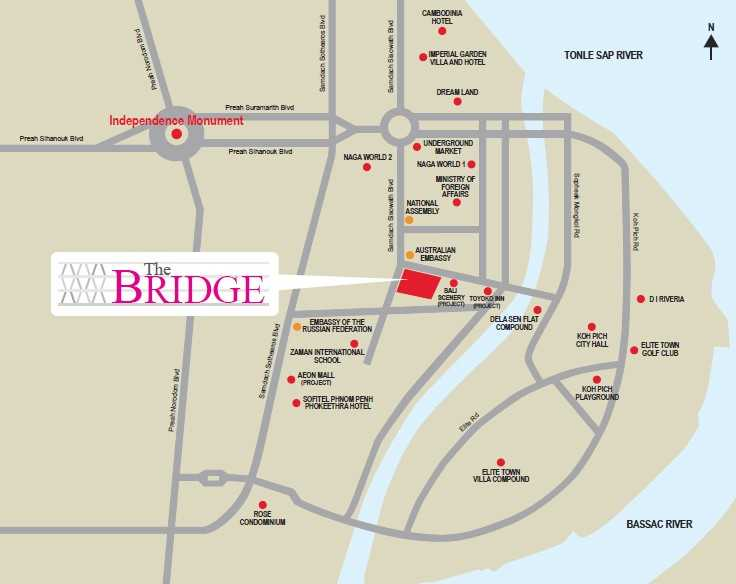 The-Bridge-Location-Map