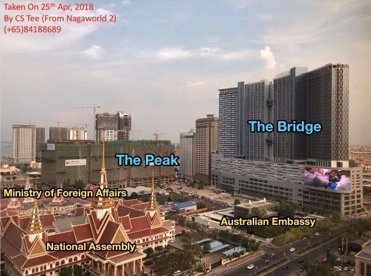 The Peak & The Bridge Contruction 2018 CS Tee Tee (+65)84188689