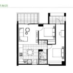 green-square-melbourne-2bed1bath-blockA