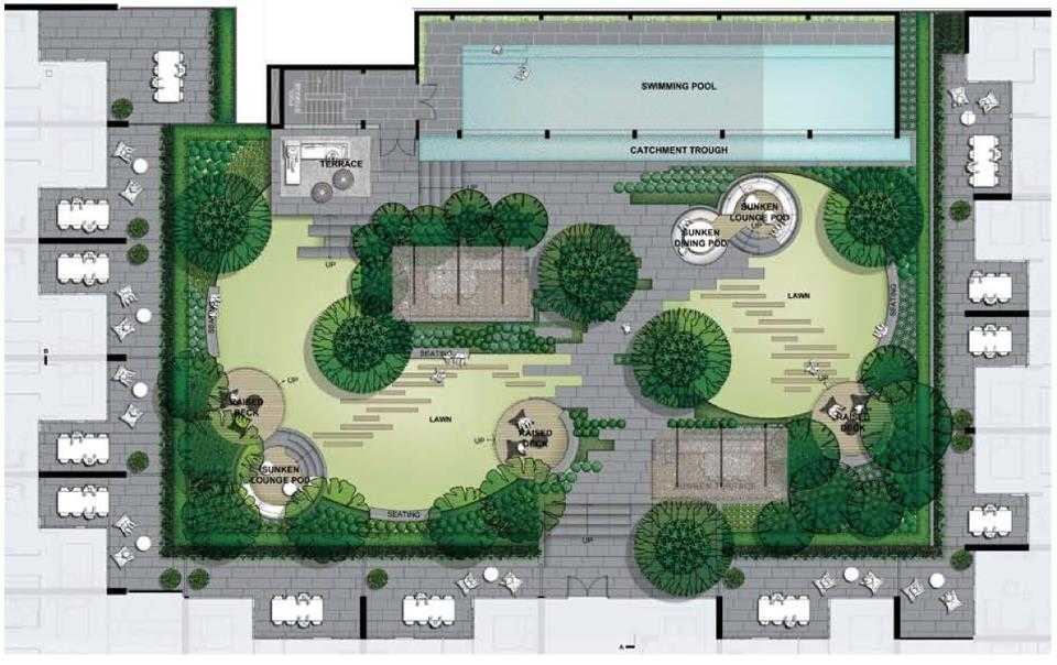 green-square-melbourne-site-plan