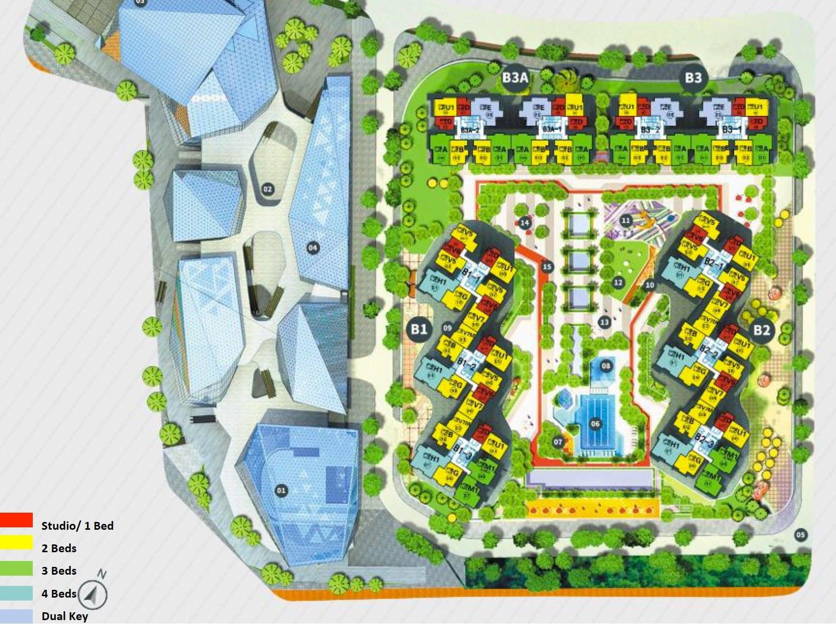 RF Princess Cove JB Site Plan