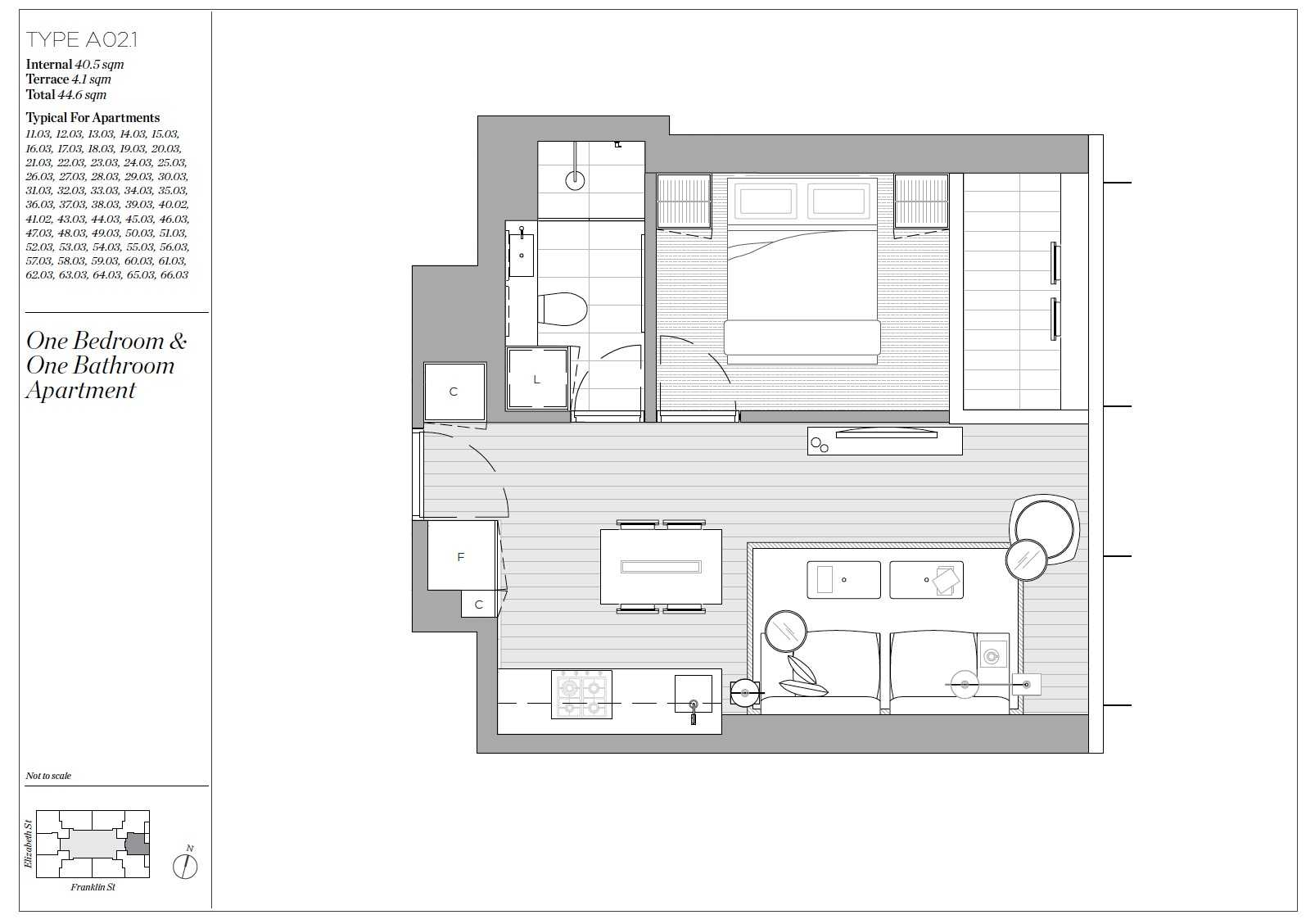 Victoria One Subsale Floor Plan 41.02