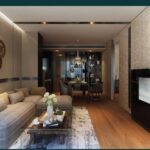 ashton-asoke-type-B-46sqm-living-room