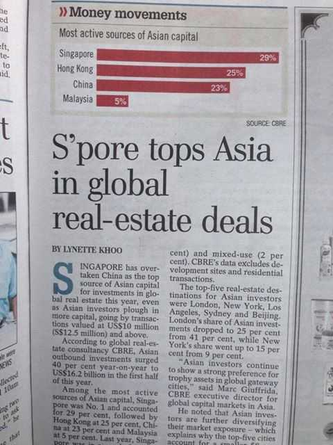 singapore-top-asia-in-global-realestate