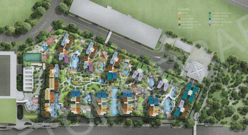 North_Park-Residences-yishun-site-plan