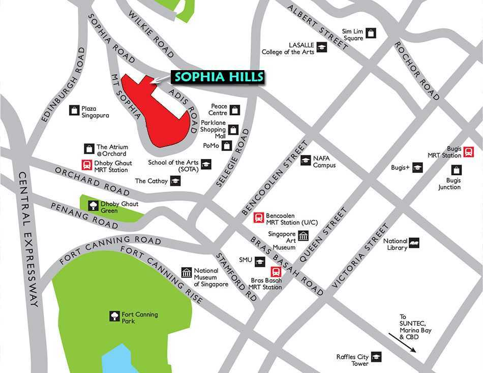 Sophia-Hills-Location-Map