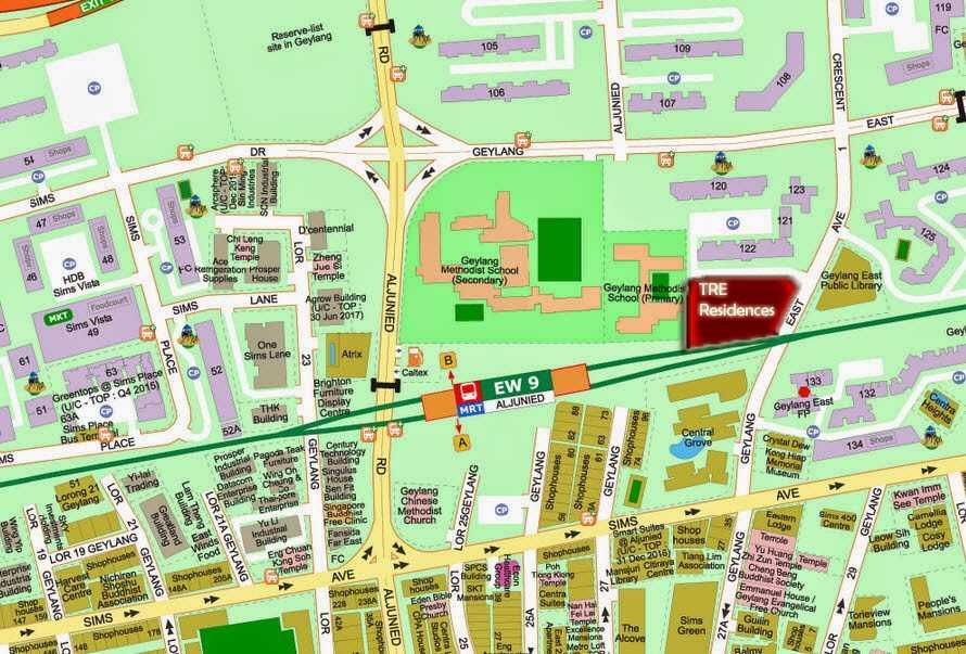 tre-residenceslocation-map