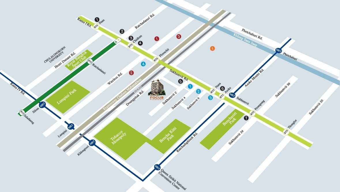 focus-ploenchit-location-map