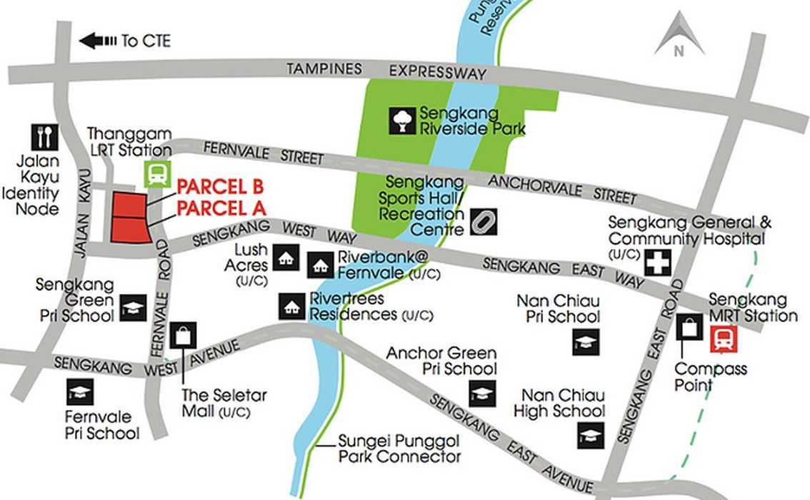 high-park-fernvale-location-map
