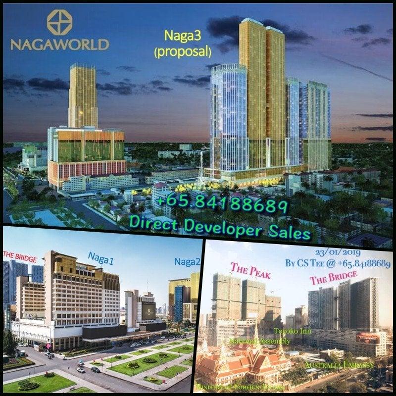 Peak Bridge Cambodia Nagaworld 1,2,3 - Apr 2019