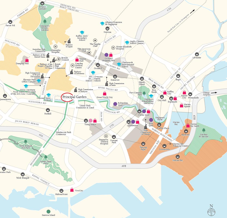 Principal-Garden-location-map