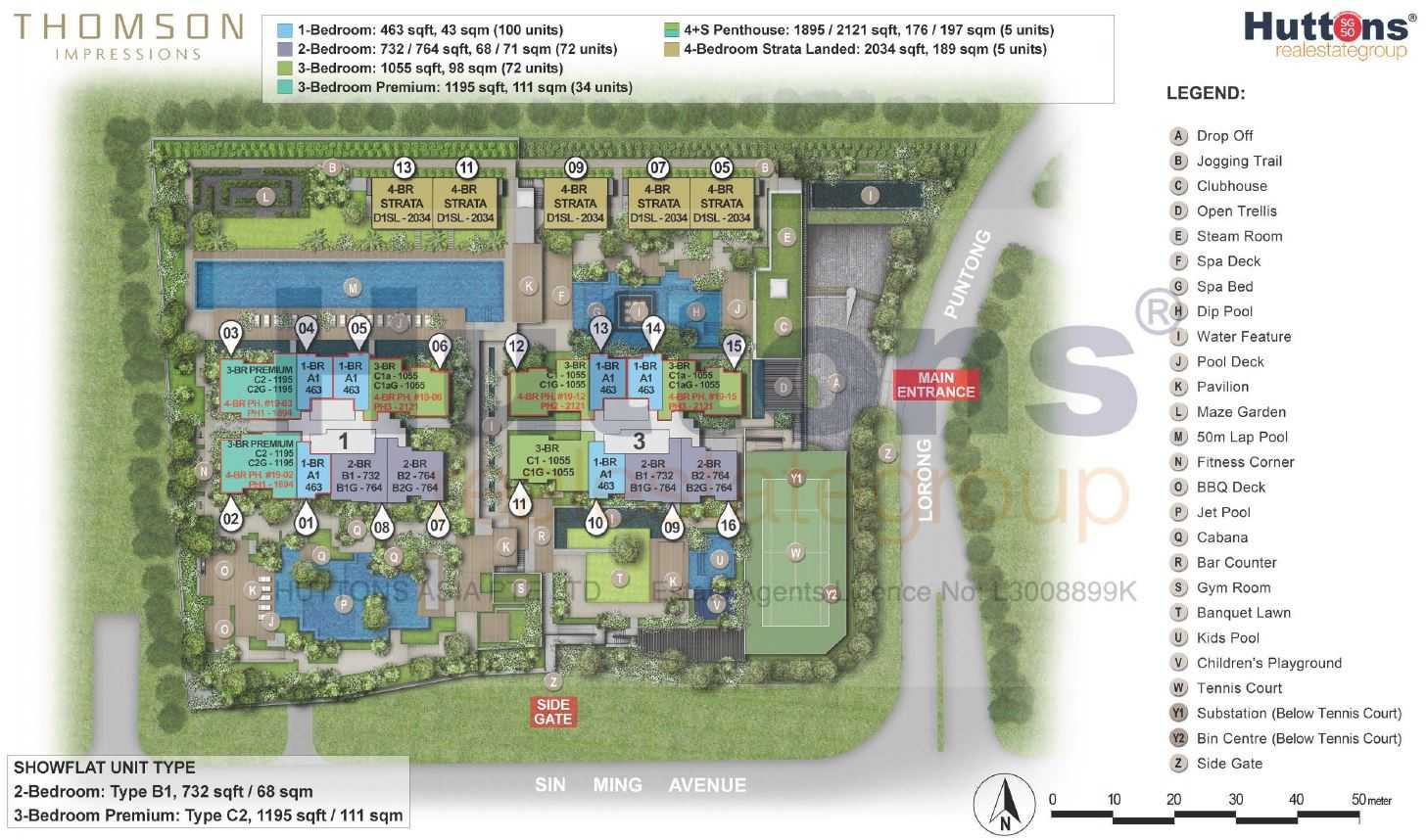 Thomson-Impressions-site-plan-units-type