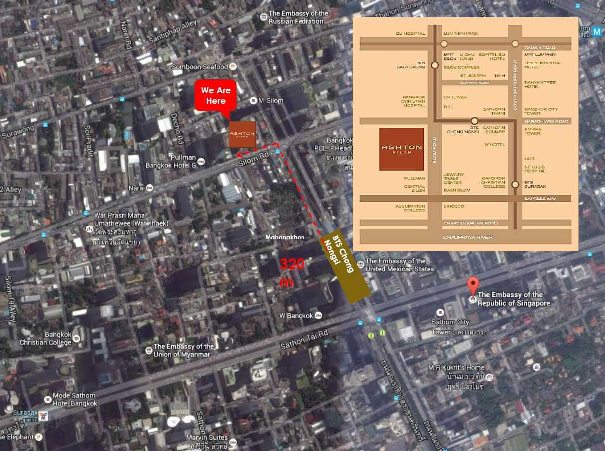 ananda-ashton-silom-location-map