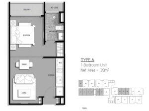 the-gateway-cambodia-floor-plan-1bedroom