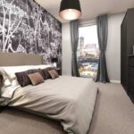 One-Regent-Manchester-Loft-Harbour-bedroom1