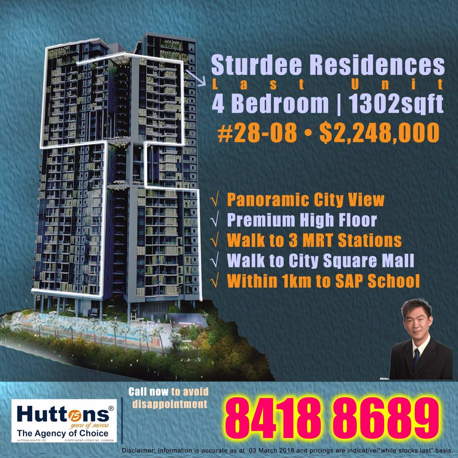Sturdee Residences Last Unit for Sale