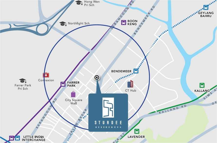 Sturdee-Residences-Map