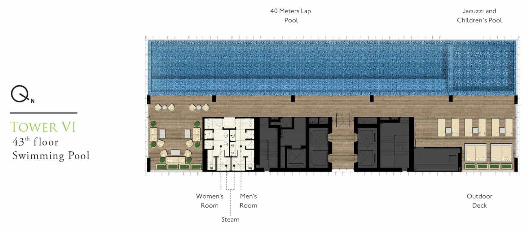 park-24-bangkok-floorplan-level40-swimmingpool