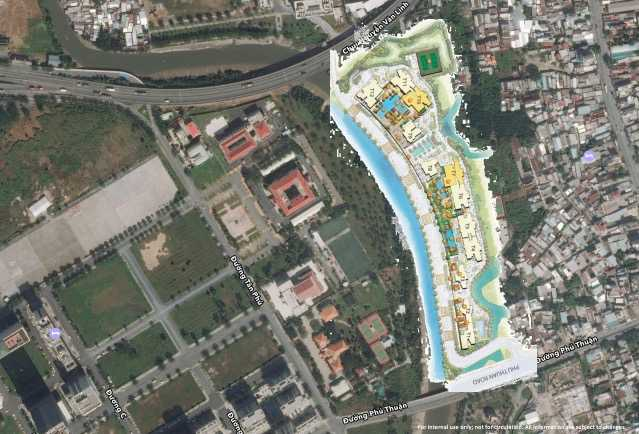 The View Riviera Vietnam-Site Plan-surrouding